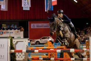 Potthoff,Alexander (GER) mit Spike 91 vom ZRFV Boesensell e. V. beim Championat von Muenster am 13. 01 2018 Foto: Jenny Musall
