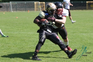 Paderborn Dolphins - Duesseldorf Panther am 20.05 2018