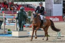 HASSMANN, Felix (GER) mit BALZACI BRINKHOFF'S NO. 1 - PREIS CSI4* - Int. Springpruefung (1.50 m) - Grosse Tour 24.08.2018