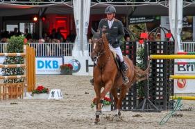 DUBBELDAM, Jeroen (NED) mit ROELOFSEN HORSE TRUCKS GIOIA VAN HET NEERENBOSCH BRINKHOFF'S NO. 1 - PREIS CSI4* - Int. Springpruefung (1.50 m) - Grosse Tour 24.08.2018