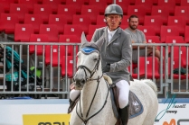 BEERBAUM, Ludger (GER) mit CHIARA 222 BRINKHOFF'S NO. 1 - PREIS CSI4* - Int. Springpruefung (1.50 m) - Grosse Tour 24.08.2018