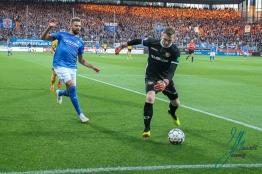 Vfl Bochum 1848 gegen Dynamo Dresden am 25.09 2018 im Vonovia Ruhrstadion