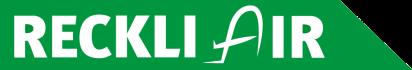 """Für eine Firmenveranstaltung von Reckli GmbH ist das Logo unter dem Motto """"Flughafen"""" enstanden."""