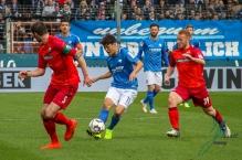 Vfl Bochum 1848 gegen SC Paderborn am 9. Februar 2019.